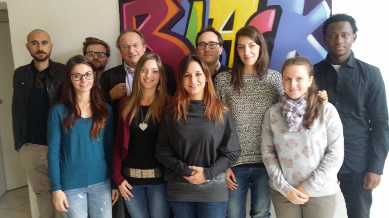 I volontari del servizio civile 2015